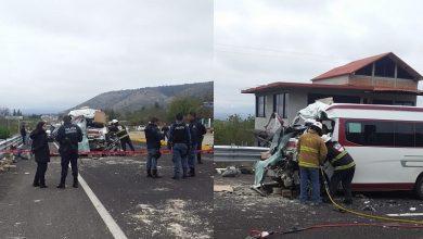 Photo of Accidente en la México-Tampico deja dos personas muertas y 11 heridos