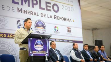 Photo of Inaugura alcalde Raúl Camacho Baños la expo metropolitana del empleo participando 45 empresas