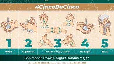 Photo of Correcto lavado de manos y limpieza de objetos de uso común previenen enfermedades virales