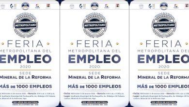 Photo of Mineral de la Reforma sede de la Feria Metropolitana del Empleo