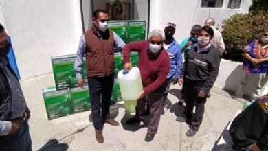 Photo of Entrega alcaldía equipo de fumigación a mercados de Pachuca
