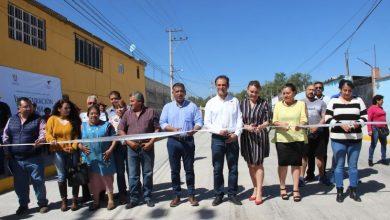 Photo of Alcalde de Tulancingo inauguró obra de pavimentación de calle Violeta