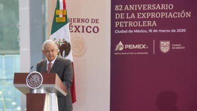 Photo of PEMEX celebra el 82 aniversario de la expropiación petrolera