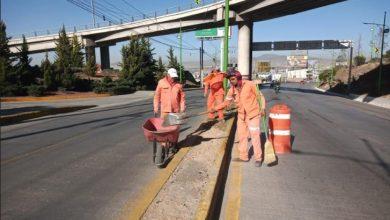 Photo of Realiza Sopot trabajos de limpieza en vialidades de Pachuca