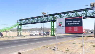 Photo of Sopot termina trabajos en puente peatonal de Xochihuacán