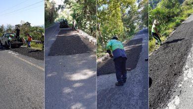 Photo of Sopot realiza trabajos de bacheo en Pisaflores