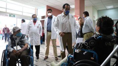 Photo of Titular de la SSH realiza recorrido en el Hospital General de Pachuca