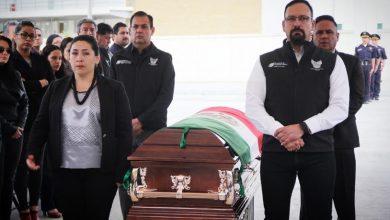 Photo of Rinde SSPH homenaje póstumo a director de la Policía de Cuautepec