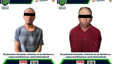 Photo of 2 detenidos, tras presuntas agresiones contra mujeres en región de Pachuca