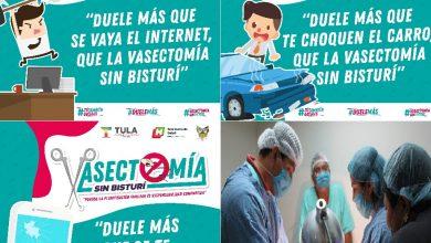 Photo of 1a campaña gratuita de vasectomía sin bisturí en Tula