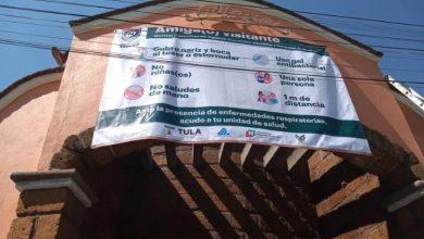 Photo of Con medidas preventivas ante contingencia, operan tianguis y mercado municipal en Tula
