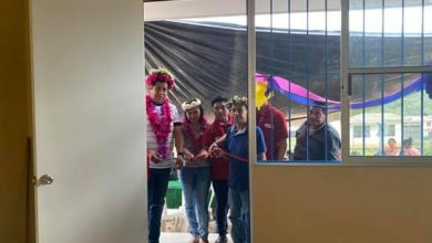 Photo of Inaugura alcalde de Xochiatipan primera aula educativa en Linda Vista