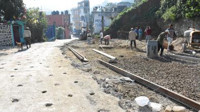 Photo of Obras públicas supervisa trabajos de rehabilitación en entrada principal.