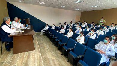 Photo of SSH sigue protocolos para el cuidado de estudiantes de la salud en unidades médicas