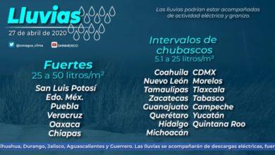 Photo of Precipitaciones para Hidalgo con descargas eléctricas y posibles granizadas: Conagua