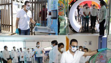 Photo of Supervisa Fayad hospital de respuesta inmediata Covid-19 en Huejutla