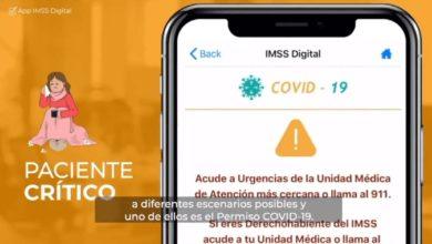 Photo of Lanza IMSS Cuestionario y Permiso Covid-19 en su aplicación para celulares y tabletas