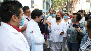 Photo of Abasto y seguridad para trabajadores del Hospital General «Tacuba» al frente de Covid-19