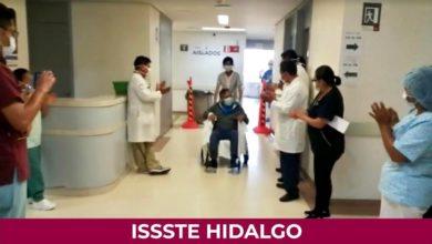 Photo of Da de alta a 3 pacientes recuperados de Covid-19 Hospital del ISSSTE Hidalgo
