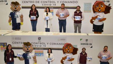 Photo of Recibe ISSSTE Hidalgo donación de cubrebocas del Club Pachuca