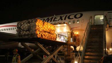 Photo of Parte quinto vuelo de Shánghái con insumos médicos para México