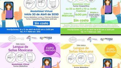Photo of Impartirá DIF Pachuca talleres virtuales de lenguaje de señas mexicana