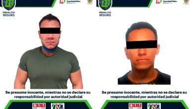 Photo of Policía de Hidalgo detiene a 2 hombres armados