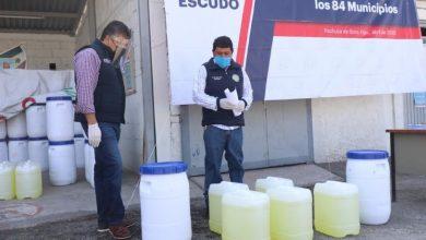 Photo of Gobierno del estado entrega insumos para cloración de agua en los 84 municipios