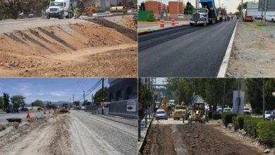 Photo of Avanza reconstrucción en laterales del bulevar Felipe Ángeles