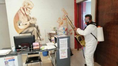 Photo of Sanitizan las instalaciones de la Presidencia Municipal de Tizayuca