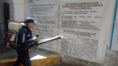 Photo of Continúa la sanitización de vialidades y espacios públicos en Tizayuca