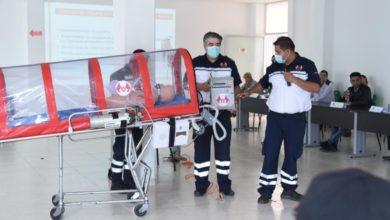 Photo of Capacitan a PC y Bomberos de Tula para traslado de pacientes con Covid-19