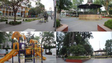 Photo of Cierran jardín principal en Tulancingo para evitar contagios