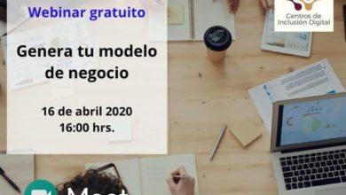 """Photo of Centro de Inclusión Digital ofrecerá taller en línea """"Crea tu modelo de negocio"""" en Tulancingo"""
