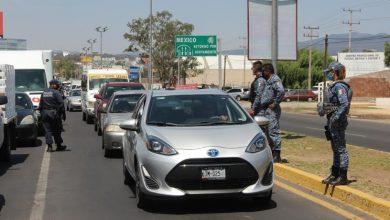 Photo of En Tulancingo se instalaron puntos de control vehicular en las entradas al municipio