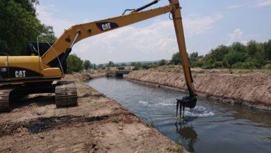 Photo of Conagua Hidalgo, realiza la conservación a los canales principales y drenes en la región Tula