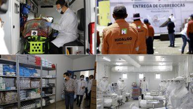 Photo of En marcha, 3 hospitales de respuesta inmediata Covid-19 en Hidalgo