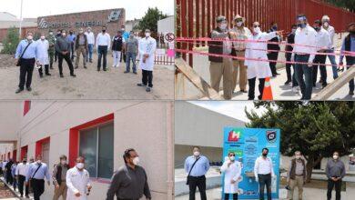 Photo of Realizan recorrido en Hospital General de Tula para reforzar medidas de atención y seguridad