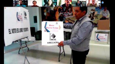 Photo of Presentan material y documentación electoral muestra para la renovación de Ayuntamientos