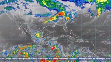 Photo of Se prevén lluvias muy fuertes para Aguascalientes, Jalisco, Oaxaca y Zacatecas