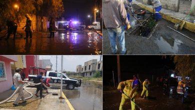 Photo of Atienden unidades de emergencia de Mineral de la Reforma, zonas afectadas por fuerte lluvia