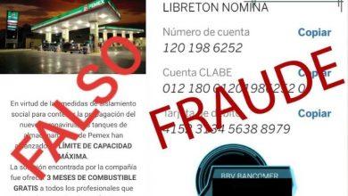 Photo of Pemex alerta sobre fraudes para efectuar depósitos bancarios a cambio de bonos de gasolina