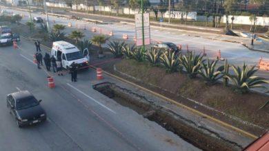Photo of Muere hombre tras caer motoneta en zanja sobre el Bulevar Colosio