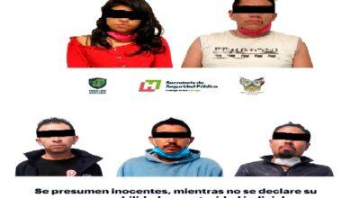 Photo of Detiene Policía de Hidalgo a 5 personas por portación de armas