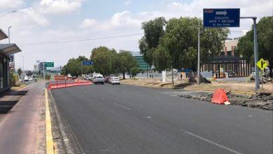 Photo of Anuncian reducción de carriles frente a Plaza Galerías Pachuca