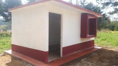 Photo of CEVI construyó cuartos dormitorios en Acaxochitlán