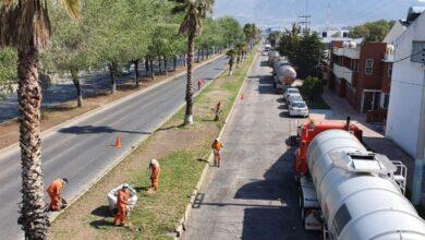 Photo of Sopot realiza trabajos de limpieza en Bulevar Everardo Marquez en Pachuca