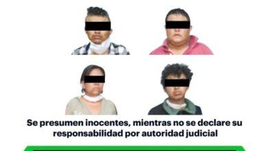 Photo of En operativo tras presunto robo a domicilio, asegura SSPH a 4 personas armadas