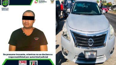 Photo of Tras persecución, asegura SSPH a hombre por posible ataque armado