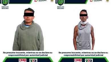 Photo of Policía de Hidalgo detiene a 2 hombres con probable droga sintética